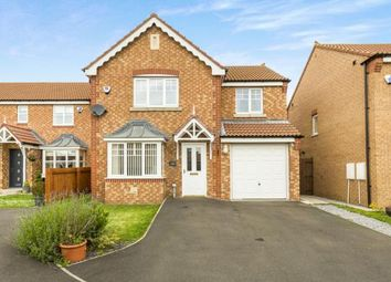 Thumbnail 4 bed detached house for sale in Cottingham Grove, Thornley, Durham, County Durham