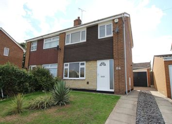 Thumbnail 3 bed semi-detached house to rent in Cantley Manor Avenue, Bessacarr, Doncaster
