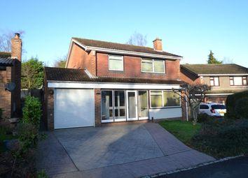Thumbnail 4 bed detached house for sale in Fernbank Close, Walderslade, Chatham