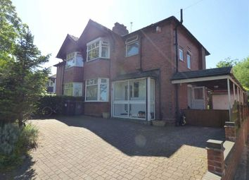 Thumbnail 3 bed semi-detached house for sale in Kingsway West, Westlands, Newcastle-Under-Lyme