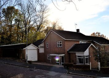 Thumbnail 4 bed semi-detached house to rent in Paddock Rise, Llanyravon, Cwmbran
