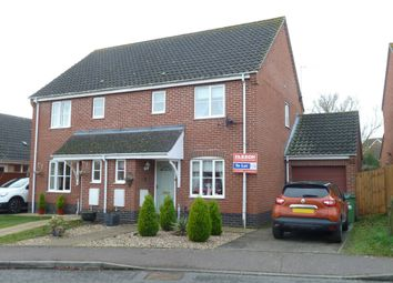 Thumbnail 3 bedroom semi-detached house to rent in Cranes Meadow, Harleston, Norfolk