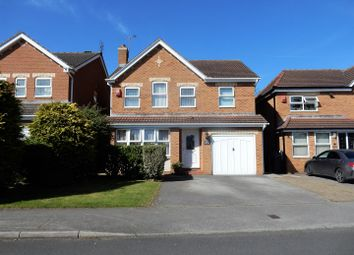 Thumbnail 4 bedroom detached house for sale in Cramfit Crescent, Dinnington, Sheffield