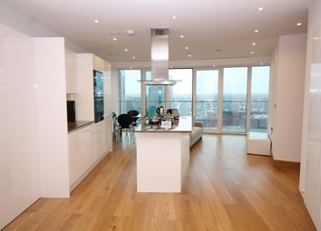 Thumbnail 1 bed flat to rent in Arena Tower, Crossharbour Plaza, Canary Wharf