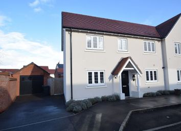 Thumbnail 3 bed semi-detached house for sale in Plantation View, Silsoe, Bedford