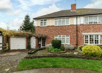 Thumbnail 3 bed semi-detached house for sale in Rodney Close, Pinner, Middlesex