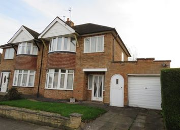 Thumbnail 3 bed semi-detached house for sale in Valentine Road, Off Uppingham Road, Leicester
