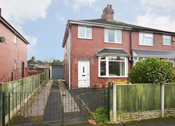 Thumbnail 3 bed semi-detached house for sale in Hollinshead Avenue, Newcastle-Under-Lyme