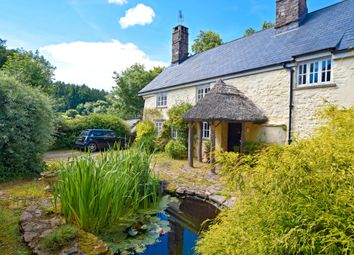 Thumbnail 4 bed farmhouse for sale in Black Lane, Hockworthy