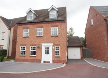 Thumbnail 5 bed detached house for sale in Barlow Drive, Fradley, Lichfield