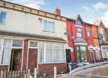 Thumbnail 3 bed terraced house for sale in Crocketts Road, Handsworth, Birmingham