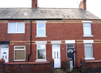 Thumbnail 2 bed terraced house to rent in Maelor Road, Johnstown, Wrexham