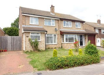Thumbnail 3 bed semi-detached house to rent in Kipling Road, Bletchley, Milton Keynes