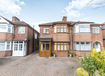 Thumbnail 3 bed semi-detached house for sale in Amberley Road, Enfield