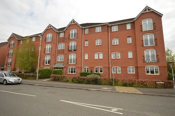 Thumbnail 2 bed flat to rent in Beames House, The Sidings, Dunwoody Way, Crewe
