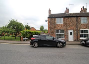 Thumbnail 2 bedroom terraced house to rent in Main Road, Drax, Selby