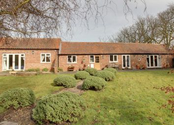 Thumbnail 4 bed barn conversion for sale in Breighton, Selby