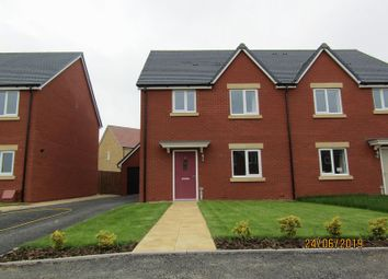 Thumbnail 3 bed semi-detached house to rent in Barleyfields Avenue, Bishops Cleeve, Cheltenham