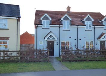 Thumbnail 3 bed semi-detached house to rent in Warren Lane, Witham St Hughs