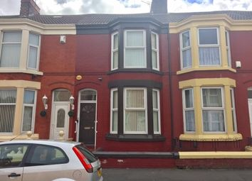 Thumbnail 3 bed terraced house for sale in 58 Connaught Road, Kensington, Liverpool