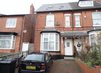 Thumbnail 1 bed flat to rent in Grove Hill Road, Handsworth, Birmingham