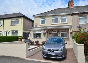 Thumbnail 3 bed semi-detached house for sale in First Avenue, Caerphilly