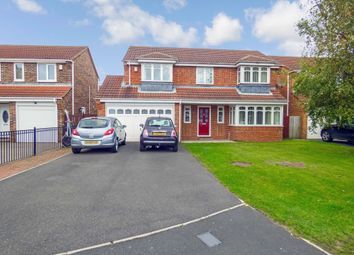 Thumbnail 5 bed detached house for sale in Wheatfields, Seaton Delaval, Whitley Bay