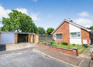 Thumbnail 4 bed detached bungalow for sale in Hardesty Close, Poringland, Norwich