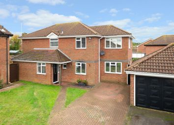Thumbnail 4 bed detached house for sale in Evans Road, Ashford
