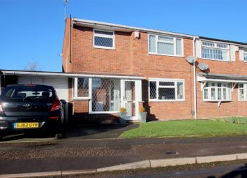 Thumbnail 3 bed semi-detached house for sale in Manfield Avenue, Walsgrave, Coventry