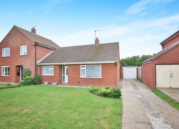 Thumbnail 2 bedroom bungalow for sale in Bromholme Close, Bacton, Norwich