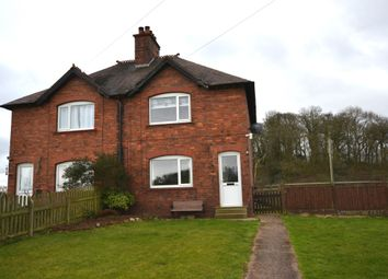 Thumbnail 3 bed semi-detached house to rent in Rock Lane, Ashley, Market Drayton