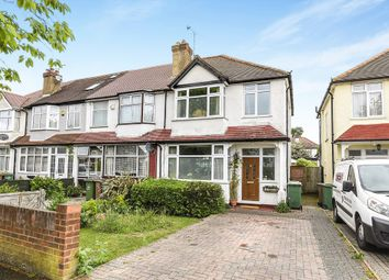 Thumbnail 3 bed end terrace house for sale in Sandringham Road, Worcester Park