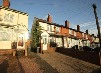Thumbnail 3 bed terraced house to rent in Hagley Road West, Smethwick