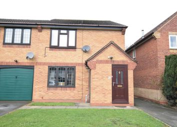 Thumbnail 2 bed flat for sale in Fontwell Road, Branston, Burton-On-Trent