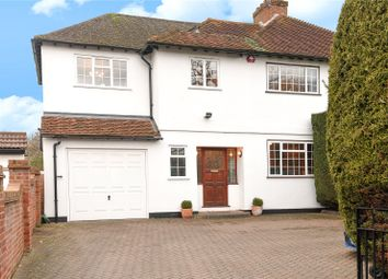 Thumbnail 4 bedroom semi-detached house for sale in Pinner Hill Road, Pinner, Middlesex