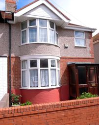 Thumbnail 3 bed semi-detached house to rent in Barry Road North, Rhyl