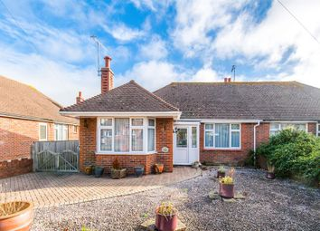 Thumbnail 2 bedroom semi-detached bungalow for sale in Alfriston Road, Worthing, West Sussex