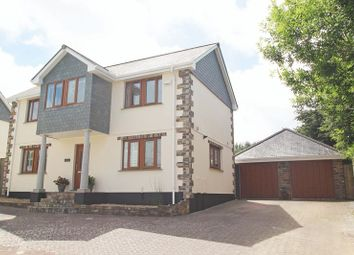 Thumbnail 4 bed detached house for sale in Jenner Gardens, St. Columb