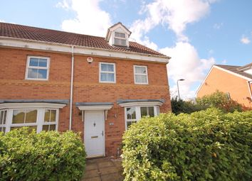 Thumbnail 3 bed town house for sale in Abbey Fields, Elstow