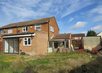 Thumbnail 3 bed semi-detached house for sale in Dawes Moor Close, Slough