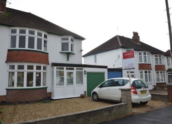 Thumbnail 3 bed semi-detached house to rent in Gartree Road, Stoneygate, Leicester