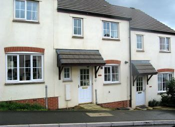 Thumbnail 1 bed terraced house to rent in Cherry Tree Road, Axminster