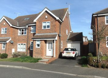 Thumbnail 3 bedroom semi-detached house to rent in Elmhurst Close, Ashford