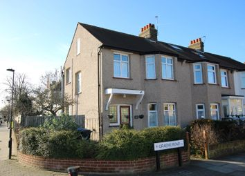 Thumbnail 3 bed terraced house for sale in Graeme Road, Enfield