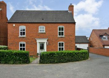 Thumbnail 4 bed detached house for sale in Ormonds Close, Darwin Park, Lichfield