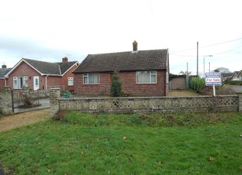 Thumbnail 2 bed detached bungalow for sale in 23 Coronation Crescent, Hempnall, Norwich, Norfolk
