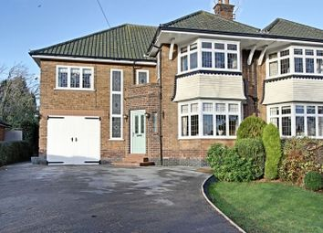 Thumbnail 5 bed semi-detached house for sale in West Ella Road, West Ella, Hull