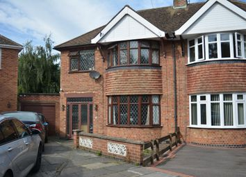 Thumbnail 3 bed semi-detached house for sale in Wintersdale Road, Evington Village, Leicester