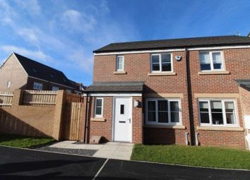 Thumbnail 3 bed semi-detached house for sale in Kershope Lane, Blyth